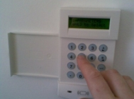 Galaxy alarm keypad london