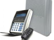 Wireless control with keypad